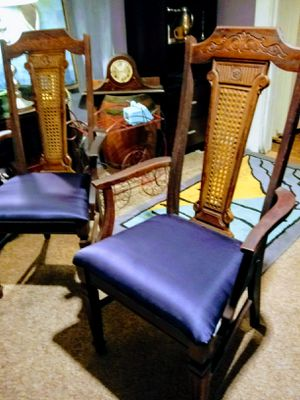Pair of antique head chairs for Sale in Dayton, OH