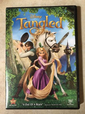 Disney's Tangled DVD for Sale in Houston, TX