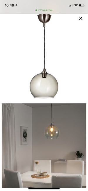 Pendant lamp + shade for Sale in Portland, OR