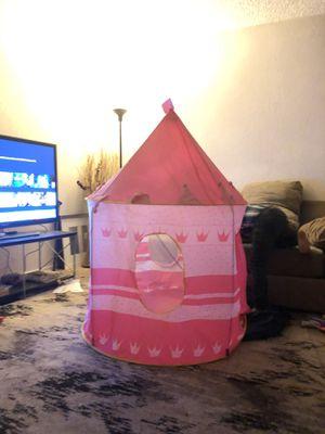 Princess Pop Up Castle Tent for Sale in Fresno, CA