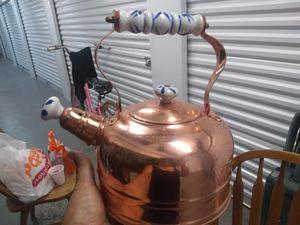 Copper Tea Kettle for Sale in Sacramento, CA