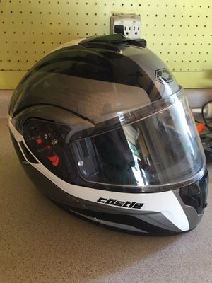 Castle motorcycle helmet sz. Med. for Sale in Bismarck, ND