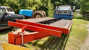 Low boy equipment trailer 20ft for Sale in Kingsport, TN