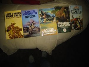 Louis L'Amour paper back books for Sale in Sapulpa, OK