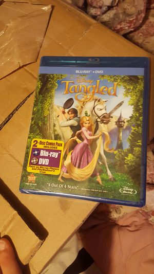 Tangled blue ray for Sale in North Providence, RI