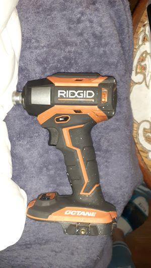 Ridgid octane 18v impact driver for Sale in Fresno, CA