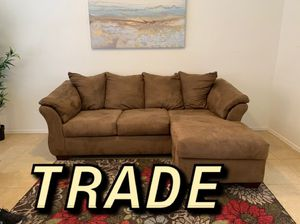 Chaise couch for TRADE for Sale in Scottsdale, AZ