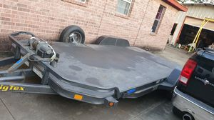 Car hauler trailer with ramps for Sale in Dallas, TX