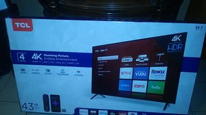 "TCL 43"" SMART TV for Sale in Tucson, AZ"