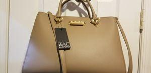 Zac Posen authentic designer bag cream for Sale in Dumfries, VA