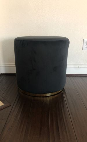 New/ black ottoman for Sale in Garland, TX