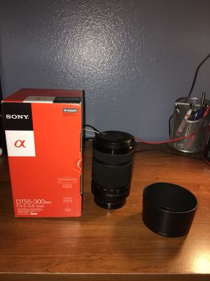 Sony 55-300mm Camera Lens for Sale in San Diego, CA