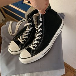 Size 11 Black All Start Chuck Ts High top for Sale in Grayslake,  IL