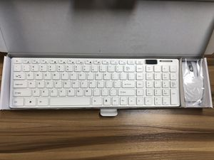 Wireless Keyboard With Silicone Cover With Mouse Combo. Black And White Colors Available for Sale in Glendale, CA