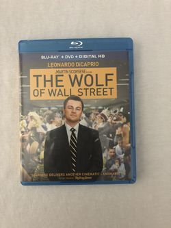 The Wolf of Wall Street Blu-Ray for Sale in La Verne, CA