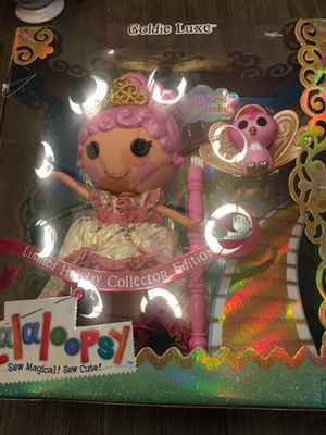 Lalaloopsy Goldie Luxe Limited Holiday Collector Edition for Sale in Spring Hill, FL