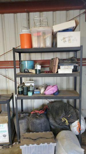 Sleeping bags propane stove water jug camping stuff etc. for Sale in Bakersfield, CA