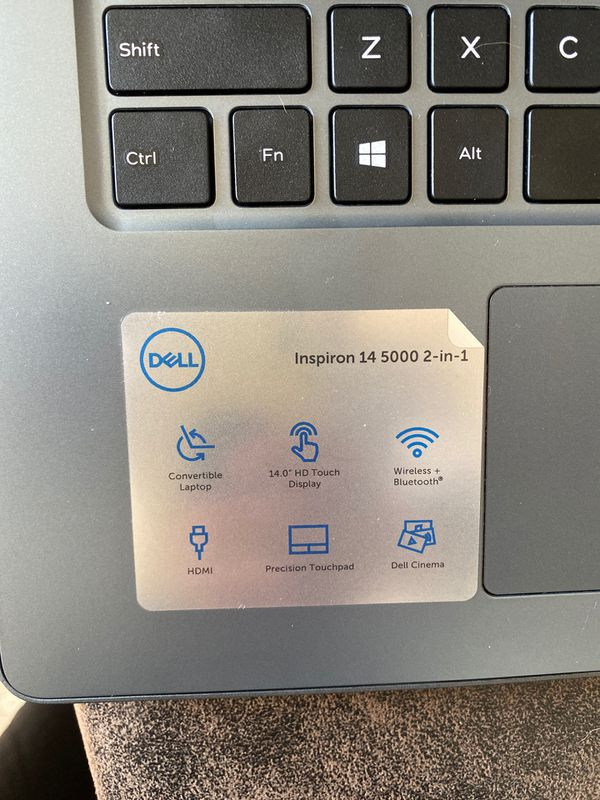 Dell 2 in 1 Laptop / Tablet