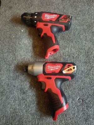 Milwaukee M12 impact and hammer drill for Sale in Rialto, CA