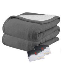Biddeford MicroPlush Sherpa Electric Heated Warming Blanket KING for Sale in Ontario, CA