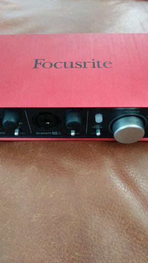 Focusrite audio interface for Sale in Victoria, TX