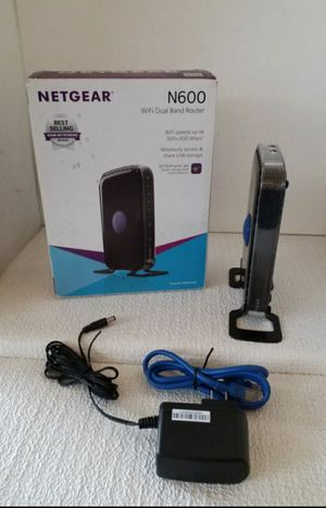 Netgear N600 WNDR3400 Dual Band Wireless Router for Sale in Los Angeles, CA