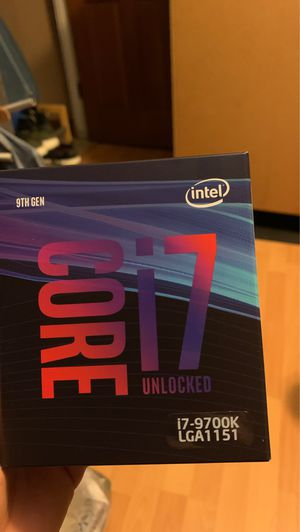I7-9700k processor for Sale in Phoenix, AZ