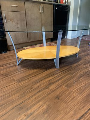 Glass dining room table for Sale in Portland, OR