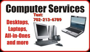 I Fix Computer/ Yo Arreglo Computadoras, 100% Guaranteed for Sale in Las Vegas, NV