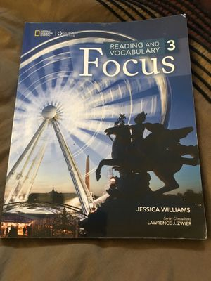 Focus reading and vocabulary 3 for Sale in McClellan Park, CA