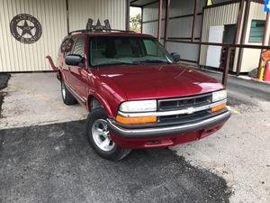 2001 Chevy Blazer automatic AC 4 doors drive good $1950 for Sale in San Antonio, TX