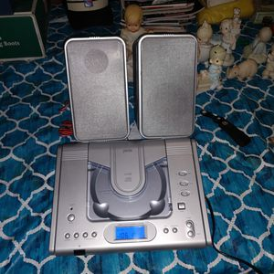 Jwin compact disc player micro system FM radio for Sale in Sound Beach, NY