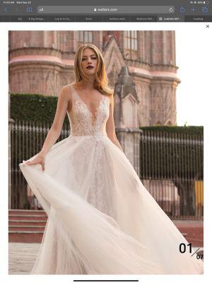Watters Designer wedding dress #5075B for Sale in Chickamauga, GA