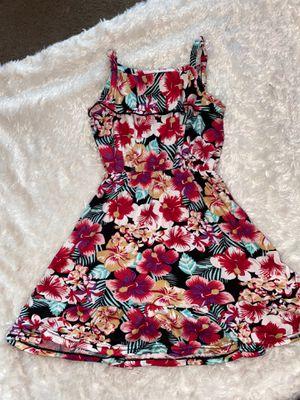 Girl Hawaii flower dress size 4 for Sale in Bellflower, CA