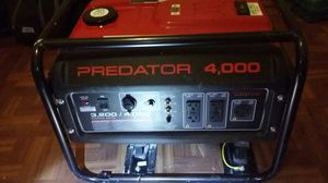 Predator 4,000 generator for Sale in Baltimore, MD