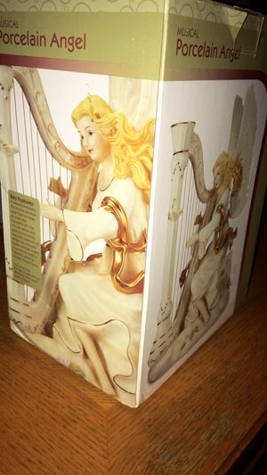 Musical Porcelain Angel for Sale in Cape Coral, FL