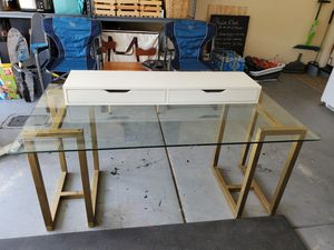 FREE glass desk for Sale in San Diego, CA