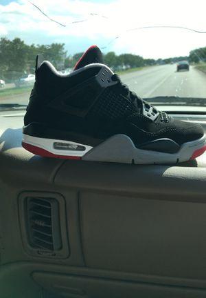 Jordan 4 retro black for Sale in Round Rock, TX