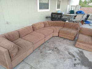 6 piece sectional for Sale in Tucson, AZ