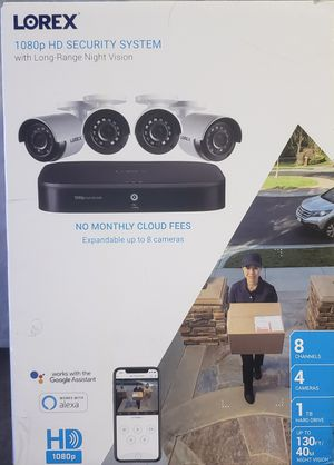 Lorex 1080p HD Security System for Sale in Buena Park, CA