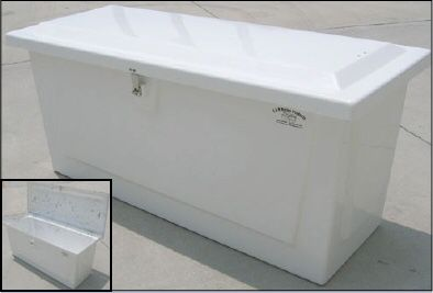 "Brand New 54"" Fiberglass Dock Box. Only $449.95"