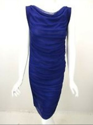 NWT Jean Paul Gaultier asymmetrical Blue Dress with Chain {url removed} L.$745 for Sale in Hillsboro, OR