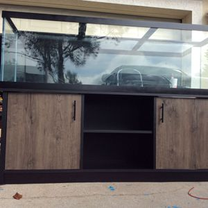 fish tank AND cabinet for Sale in Kissimmee, FL