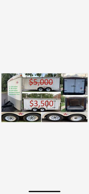 7 feet by 14 feet covered trailer for Sale in Severn, MD