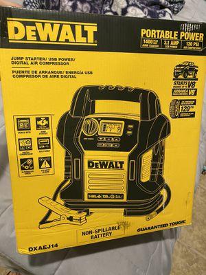 Dewalt 1400 AMP Jump Starter/ USB Power/Digital Air Compressor🚨$110 FIRM!!!!! for Sale in Irwindale, CA