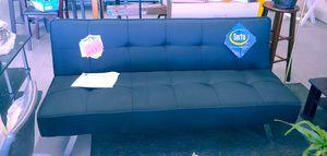 Beautiful black futon by Serta memory foam 3-position $149.99 last one new for Sale in Phoenix, AZ