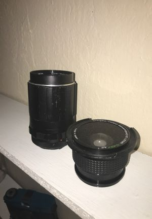 Two lenses ( Takumar and Nykora) for Sale in Chico, CA