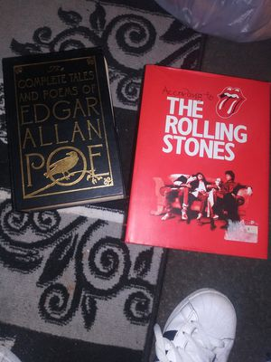 Edgar Allan Poe n The Rolling Stones Book for Sale in Baltimore, MD