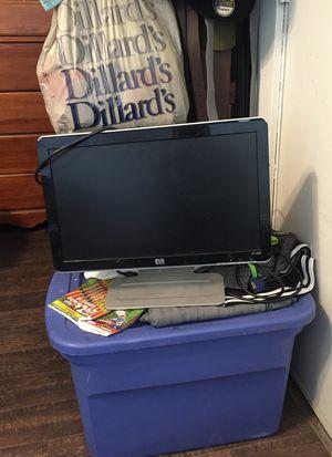 Hp desktop computer screen for Sale in Dothan, AL