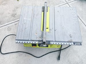 2. RYOBI Table Saw Heavy Duty! for Sale in Brooklyn, NY